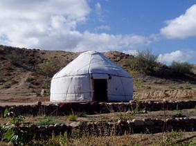 jurte camp kirgisistan