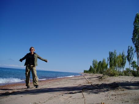 Kirgisistan Issykul-See