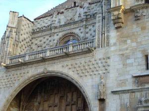 León- Hostal de San Marcos, Muschelfassade