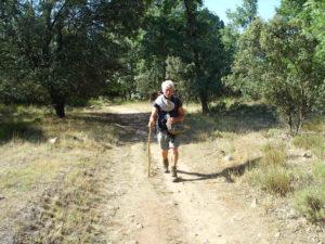 Camino de San Salvador, wildromantischer Weg durch Steineichenwälder