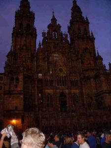 Santiago - Blick auf Kathedrale