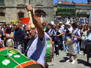 Fiestas de Santiago mit nationalistischen Tönen